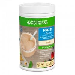 Batido Herbalife Pro 20 Select sabor vainilla